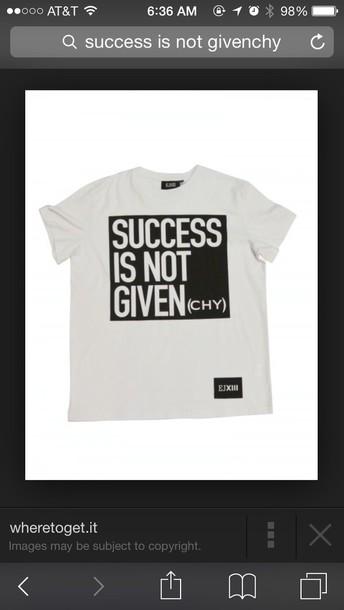 shirt success is not givenchy t-shirt givenchy tshirt