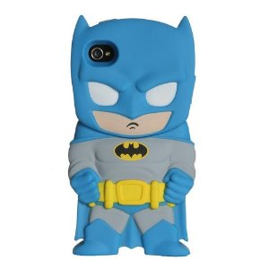 Amazon.com: DC Chara-Cover Series 1 Batman iPhone 4/4S Cell Phone Case by Huckleberry: Cell Phones & Accessories