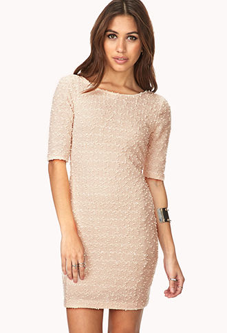 Charming Bouclé Dress | FOREVER21 - 2000090109