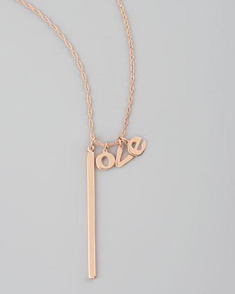 Jennifer Zeuner Love Lariat Necklace - Bergdorf Goodman