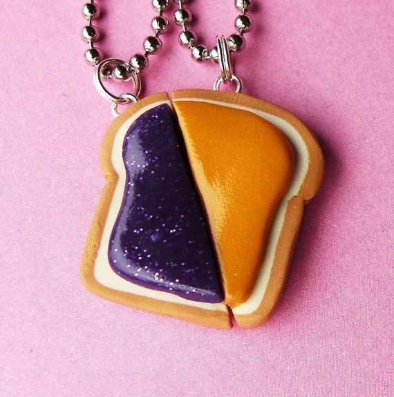 Peanut Butter and Jelly Matching Slice Best by BabyLovesPink
