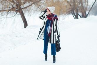 gvozdishe blogger jumpsuit hat shoes bag scarf