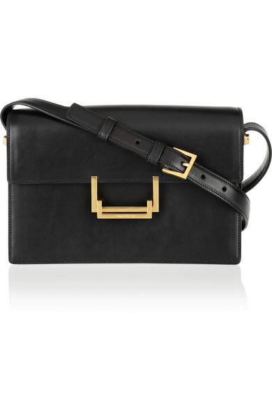 Saint Laurent|Lulu leather shoulder bag|NET-A-PORTER.COM