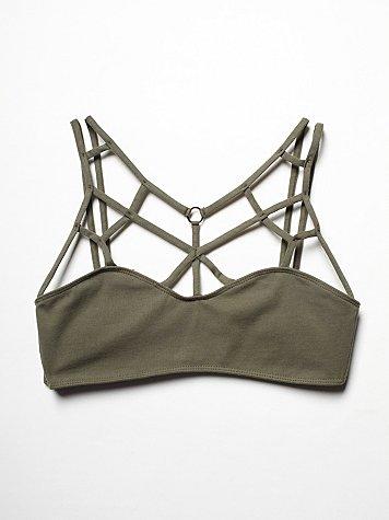 Intimately  Strappy Front Bra at Free People Clothing Boutique