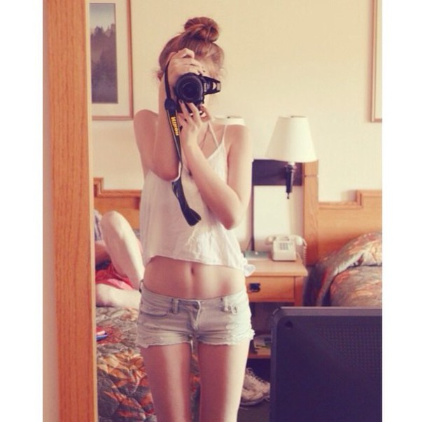 shorts denim shorts top tank top white white top white tank top summer shorts summer outfits summer top cute girly