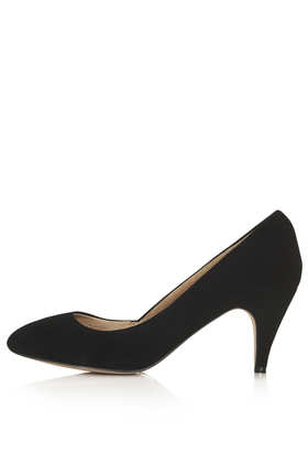 MAPLE Simple Suede Court Shoes - Heels  - Shoes  - Topshop