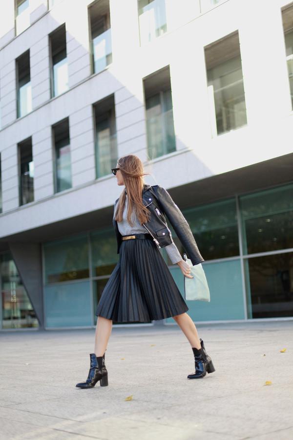 b a r t a b a c jacket t-shirt skirt shoes bag sunglasses belt