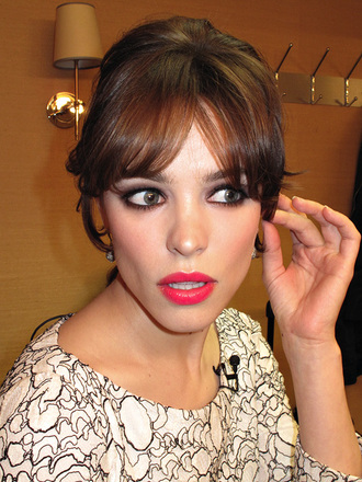 make-up rachel mc adams lipstick