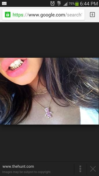 jewels sour patch Sourpatchkids necklace