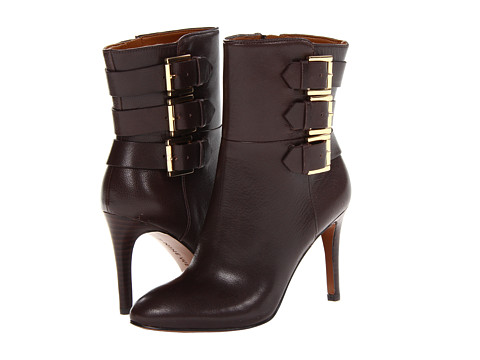 Nine West Petti Dark Brown Leather - Zappos.com Free Shipping BOTH Ways