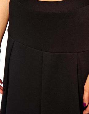 ASOS   ASOS Midi Skirt with Box Pleats at ASOS