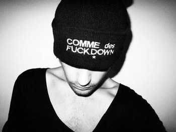 HOT  ssur comme des fuckdown winter knitted hat cap hip hop warm Beanies Fashion Winter Unisex Solid Color Elastic FREE SHIPPING-in Skullies & Beanies from Apparel & Accessories on Aliexpress.com