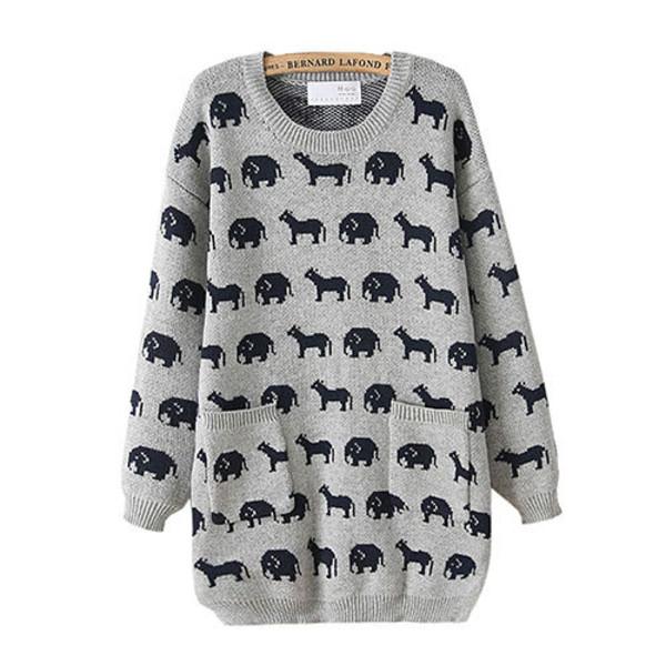 sweater cartoon cute