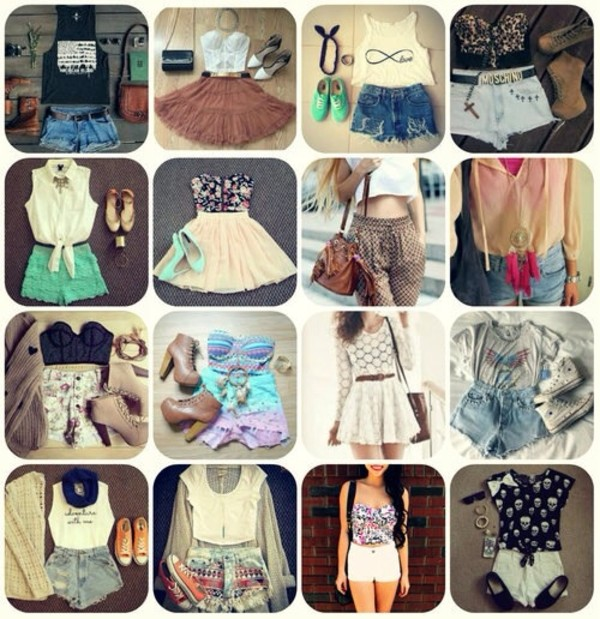 dress tank top shorts skirt shoes pants shirt bag