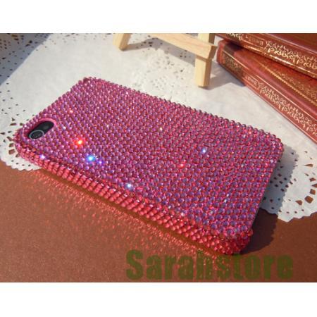 New Handmade Swarovski Element Crystal Cover Case for iPhone 5 5S Bling Hot Pink | eBay
