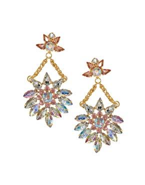 ASOS | ASOS Jewel Chandelier Earrings at ASOS