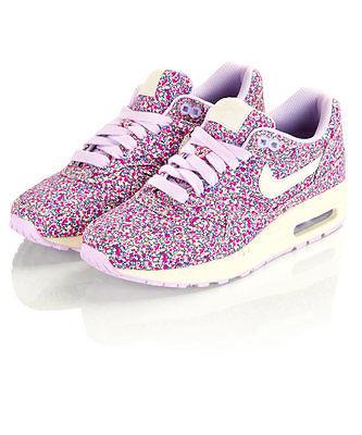 Nike Liberty x Air Max 1 Pepper Print Purple US Wmns 9 5 UK 7 EU 41 Patta Atmos | eBay