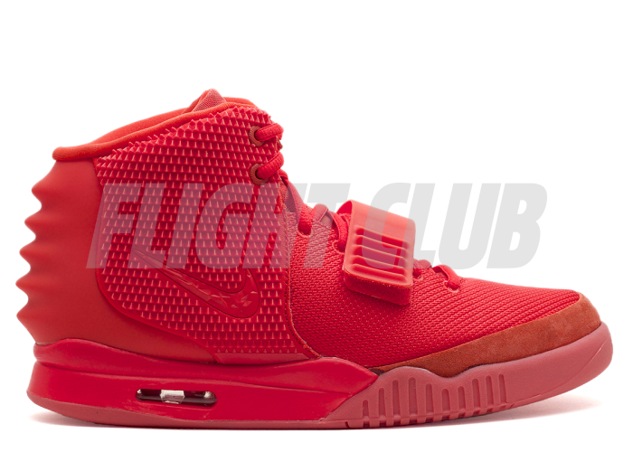"""air yeezy 2 sp """"red october"""" - red/red    Flight Club"""