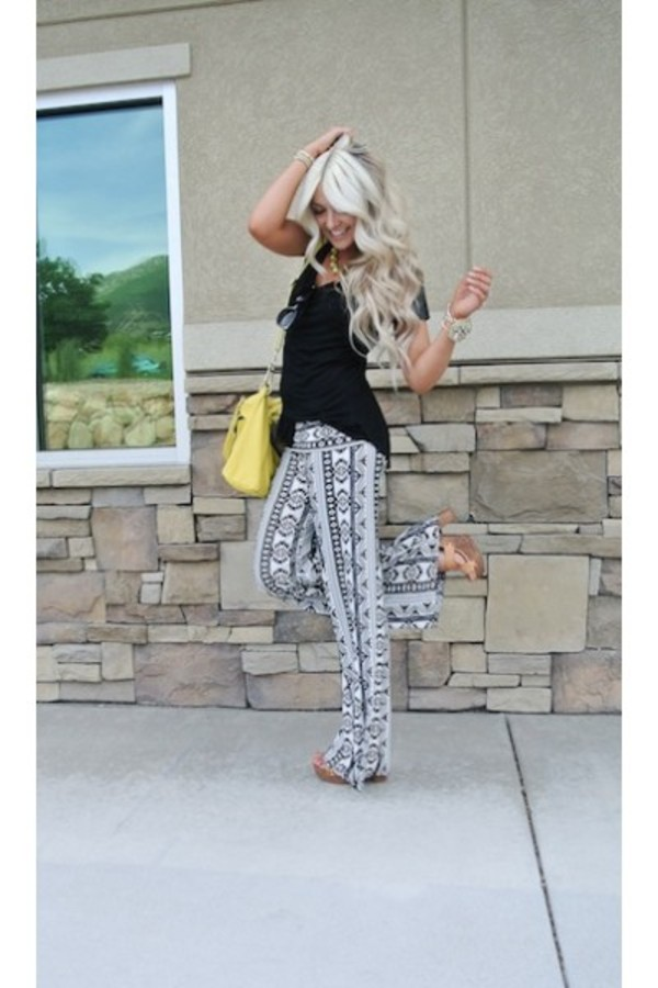 pants printed pants fashion style blogger style blogger instagram look of the day ootd shopping shopaholic