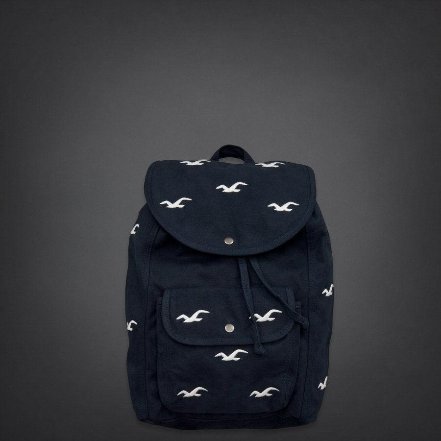 Hollister Women's Classic Backpack Bag Bookbag Tote | eBay