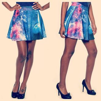 dress galaxy skirt galaxy print skirt