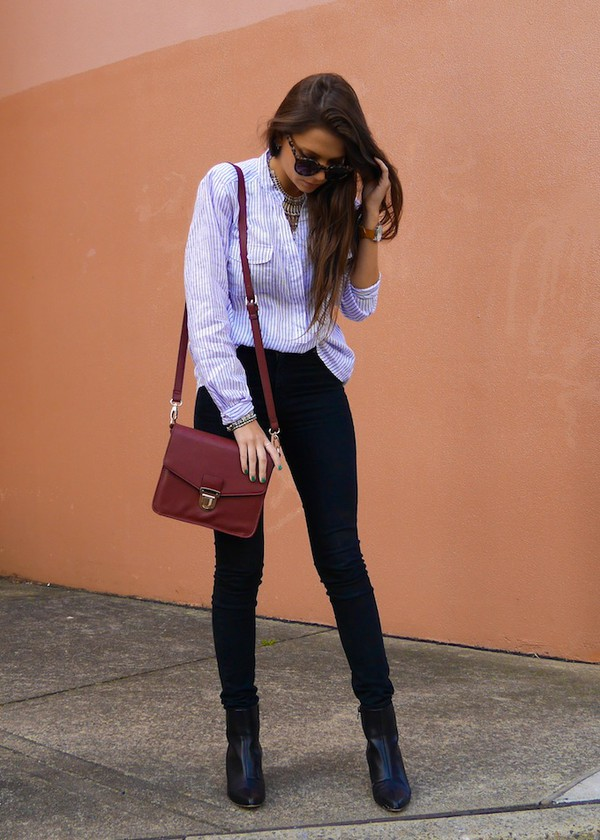 spin dizzy fall jeans shoes bag jewels sunglasses