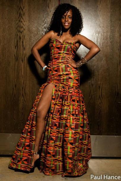 dress african print dress african dresses slite dress