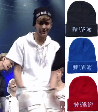 Exo knitted hat bad hair day beanie hat hiphop hat snow cap New 2013  Winter Sport Cap Letter  Snapback Hats-inSkullies & Beanies from Apparel & Accessories on Aliexpress.com