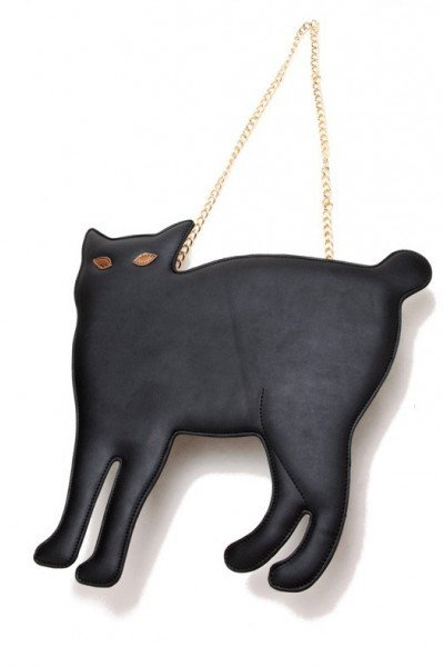 KCLOTH Lovely Cat Cat PU Pouch