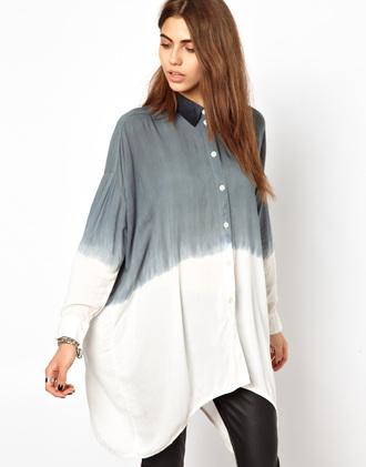 blouse religion shirt tie dye