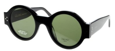 Amazon.com: Celine Women's Sunglasses CL 41052/S 47mm Black 807: Shoes
