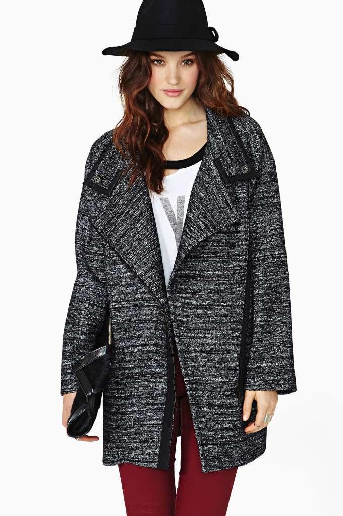 Mag Mag Dissension Coat in  Clothes Jackets   Coats at Nasty Gal