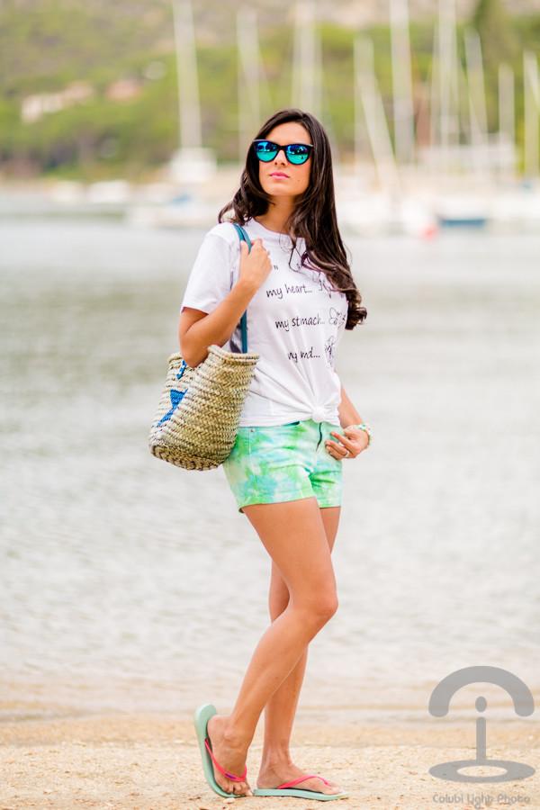 crimenes de la moda t-shirt bag shorts