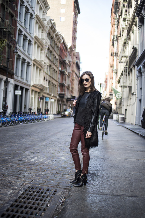 anouska proetta brandon coat pants bag shoes