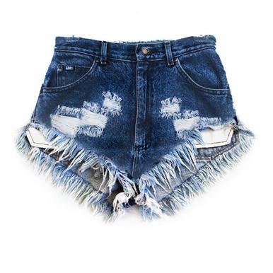 Original 520 Fray Shorts - Arad Denim