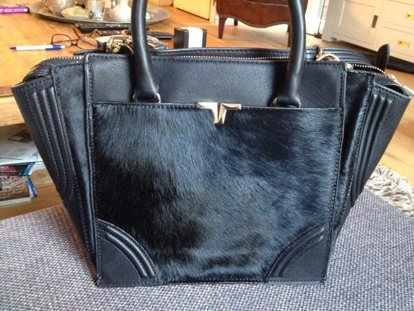 bag fur black