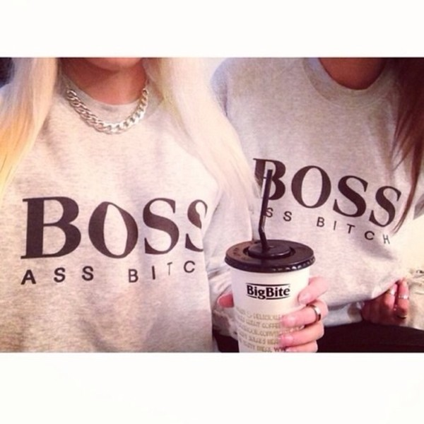 sweater boss girly