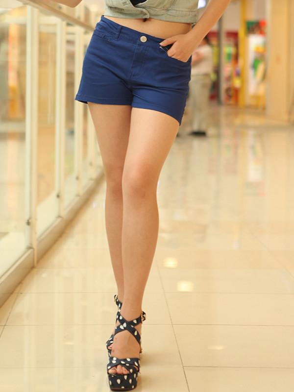 short light blue short apparel apparel for women
