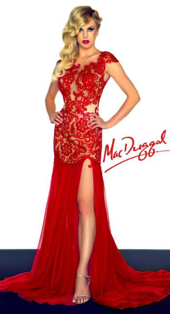 Black and White by Mac Duggal Dress 61041R   Terry Costa Dallas