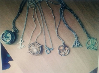 jewels harry potter necklace divergent catching fire katniss everdeen mockingjay
