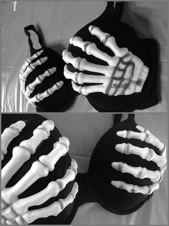 Skeleton Bra / Betty bones