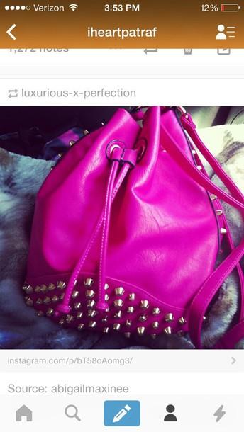 bag style fashion pink purse pink dress