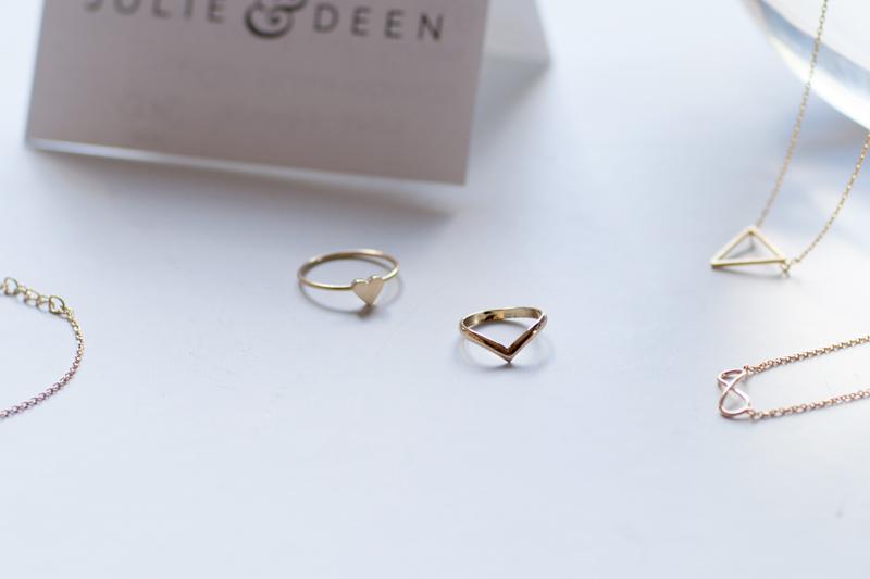 Delicate Small Jewellery by Jolie & Dean   Closet VoyageCloset Voyage