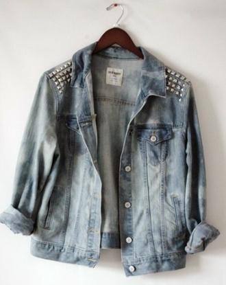 jacket veste denim denim jacket coat shirt cardigan spring jacket