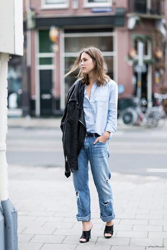 shirt jeans jacket after drk