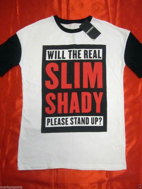 shirt eminem eminem tshirt slim shady slim shirt dr dre