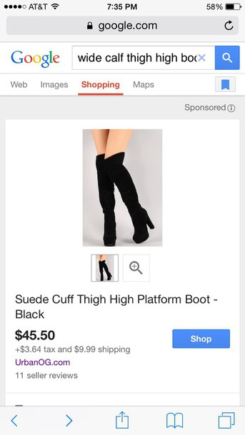 shoes black faux suede thigh high boots ta