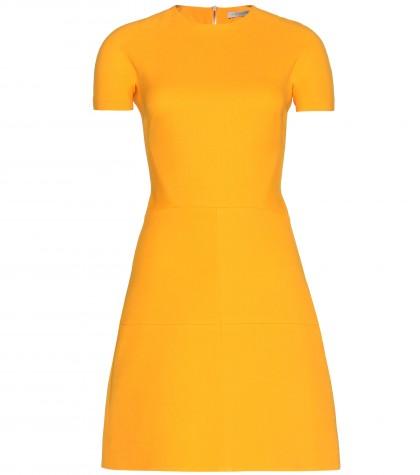 mytheresa.com -  Silk and wool-blend crepe dress  - Short - Dresses - Clothing - Luxury Fashion for Women / Designer clothing, shoes, bags