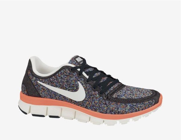 shoes nike new grey orange smart running shoes