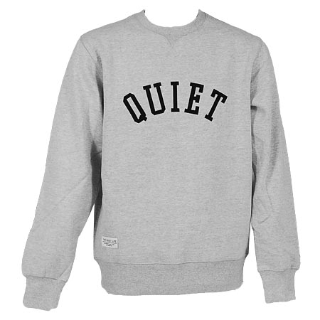 The Quiet Life Quiet Applique Sweatshirt in stock at SPoT Skate Shop